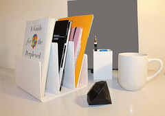 Accessories Uneakbuy (ashleynolson) Tags: uneakbuy accessories home office decor organize business cards coffee mug black diamond
