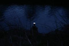 MSC Navigation Beacon (North) (Azzcart2000) Tags: manchestershipcanal navigation beacon light dark white