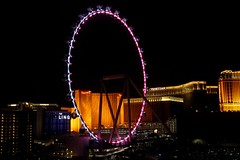 The LINQ (Prayitno / Thank you for (12 millions +) view) Tags: konomark linq link eye las vegas nv nevada high roller ferris wheel night time photo shot shooting dark darkness outdoor lights illumination