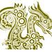 Chinoiserie Dragon