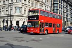 DLA620 KL52CXN (PD3.) Tags: london bus buses england uk sight seeing sightseeing psv pcv dla620 dla 620 kl52cxn kl52 cxn arriva trainer training daf alexander shires