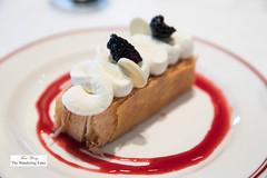 Caramel Mille-Feuille, blackberry, chantilly (thewanderingeater) Tags: easternstandard fenway boston massachusetts lunch bar