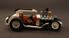 Hotrod Ford V8 (OutBricks) Tags: lego hotrod v8 ford legocar instructions tutorial minifigscale moc