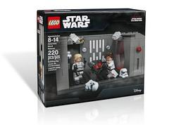 Star Wars Celebration 2017 LEGO Detention Block Rescue (hello_bricks) Tags: starwars celebration 2017 lego detention block rescue starwarscelebration hansolo lukeskywalker deathstar