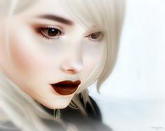 Soft Sensation (Stan&Lola [Photograph/Blogger/Custom Poses]) Tags: genesislab lipstick makeup secondlife