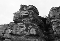 2319018.jpg (Greg.May) Tags: rock monochrome print 2016 hebden scans bw ilford film yorkshire pauline