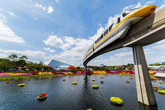 Monorail Monday (wdwben) Tags: waltdisneyworld waltdisney waltdisneyworldresort waltdisneyworldparksandresorts waltdisneyworldparks disney disneyworld disneyparks disneyparksandresorts epcot epcotcenter epcotinternationalflowerandgardenfestival monorail monorailmonday monorailyellow flowerandgarden freshepcot imagination imaginationpavilion nikon nikond610 irixlens irix15mm