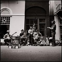 Music on Royal street (e l e c t r o l i t e) Tags: hasselblad film tmax400 neworleans shannonrichardson electrolite 60mm