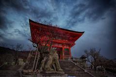 Entrance to Kiyomizu-Dera (stoelting.chris) Tags: entrance kiyomizudera kyoto japan hdr pentax temple shrine twop art pentaxart travel world