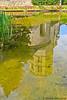 Girona_08 (yogidan2012) Tags: water barcellona spagna girona riflesso reflection reflejo chiesa torre tower church iglesia specchio espejo mirror laghetto pond