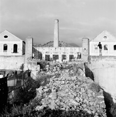 San Joaquin abandoned sugar factory in Nerja, Spain (swedish silver) Tags: hasselblad imacon 500cm sugar factory abandoned san joaquin nerja spain 6x6 medium format