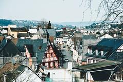 old crooked roofs are my favorite (lina zelonka) Tags: rhens mittelrheintal rheinlandpfalz linazelonka germany deutschland europe europa rlp rhinelandpalatinate middlerhinevalley mittelrhein middlerhine architecture village dorf town roofs dächer view hills nikond7100 18105mm