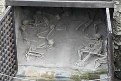 010 Shoreline  Storerooms (boathouses), Herculaneum (4) (tobeytravels) Tags: herculaneum shoreline storage boathouse bodies skeletons