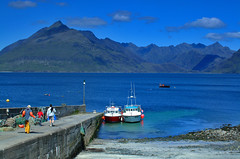 The Cuillins,Skye, seen from Elgol (murraymcbey) Tags: mountains thecuillins skye island scotland elgol