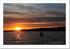 Atardecer en el Río Piedras (Lourdes S.C.) Tags: atardecer anochecer ocaso cielo nubes río ríopiedras reflejos nwn
