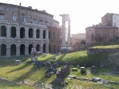 Theatre of Marcellus (m0nt2) Tags: rome roma theatreofmarcellis romanempire ancientrome juliuscesar juliusaugustus theatre