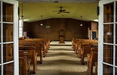 (Rodney Harvey) Tags: battle athens state historic site missouri methodist pews country rural ghost town