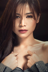 Anne Magno (brymanaloto) Tags: annemagno asian beauty bm boudoir brymanaloto cinematic closeup colorgrading dramatic filipina glamour headshot jrconstantino lighting metromanila nikkor85mm nikon nikond610 philippines photoshoot photography portrait sensual sexy weshootpeople
