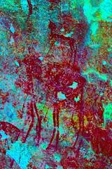 DSC05216 - BONGANI Spot 2_lxx (HerryB) Tags: 2017 southafrica afrique afrika sar sonyalpha77 sonyalpha99 tamron alpha bechen fotos photos photography sony herryb mpumalanga rockart rockpaintings peintres rupestres san zeichnungen höhlenmalerei paintings bushmen buschmänner dstretch harman jon jonharman enhance falschfarben restauration bongani lodge mountain bonganimountainlodge spot2