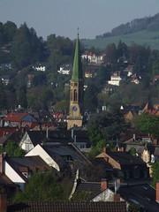 Christuskirche (Klemens Maier) Tags: freiburg breisgau baden badenwürttemberg deutschland schlossberg greiffeneggschlössle wiehre christuskirche lorettoberg schönberg