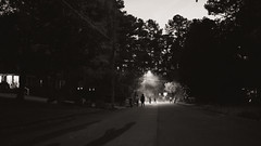 end of a spooky night (veader) Tags: 35mm halloween 16x9 bw