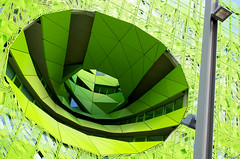 Vortex (Atreides59) Tags: vert green lyon rhone rhône pentax k30 k 30 pentaxart atreides atreides59 cedriclafrance france confluence colours urban urbain street