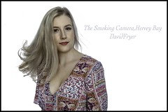 Florence (THE SMOKING CAMERA HeRvEy BaY davefryer) Tags: prettygirl canon5dmk4 50mm highkey whitebackground studio