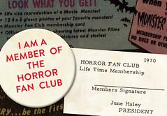 Moon Monster Badge and Fan Club Membership Card