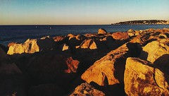2014-08-20 03.07.26 1 (KevinClyde) Tags: travel sunset sea sky panorama france color beach water colors sunrise landscape one mare blu montecarlo monaco seashore francia viaggio spiaggia menton mentone htc vscocam