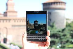 BlackBerry Passport new Panorama Camera Option