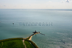 SMS_20140805_0059.jpg (Luchtfotografie SiebeSwart.nl Aerial Photography) Tags: city lighthouse holland tourism nature netherlands landscape island town fishing lighthouses ne