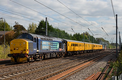 37402 - Harpenden - 3M05 (richa20002) Tags: test tractor train rail class network 37 nr services midland direct mainline mml serco