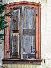 Window 166 (baer99) Tags: wood window metal stone germany lumix fenster rost holz metall sandstein hdr dmcfz30