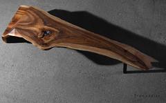 walnut coffee table (Treeaddict) Tags: coffee table design furniture walnut cocktail dining local tisch rainer wohnzimmer solid lokal bogoak rosenheim walnuss massiv handarbeit couchtisch mooreiche handbuild hallmann baumkante nussholz treeaddict