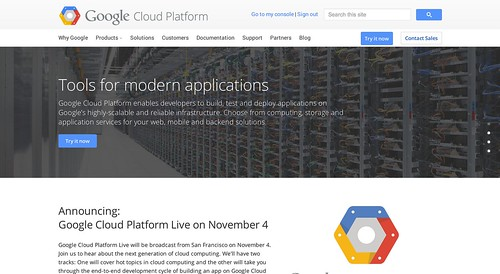 GoogleCloudPlatformHomepage