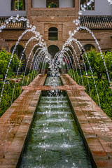 Water fountain (kaifr) Tags: garden spain palace alhambra granada andalusia waterfountain fortress