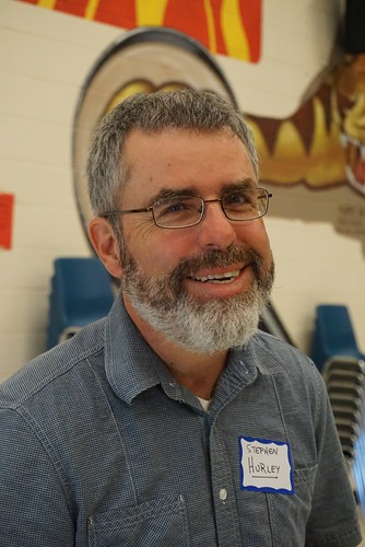 Stephen at #edCampBarrie 2014