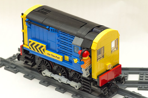 Power Functions Shunter rear