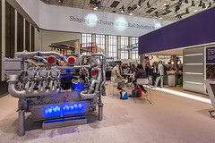 MTU_InnoTrans2014_16 (Rolls-Royce Power Systems AG) Tags: technology power engine rail rollsroyce systems 1600 series mtu 4000 2014 iep powerpack baureihe innotrans
