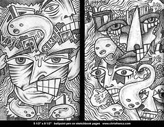 All of my artwork is at www.chrisfrancz.com (Chris Francz) Tags: art drawings coolart artistsketchbook sketchbookdrawing ballpointpendrawing sketchbookpages sketchbookart chrisfrancz chrisfranczart shawneeondelawarepa stroudsburgpaart stroudsburgpaartgallery stroudsburgpaartist minisinkhillspaartist iamprojectstreetart