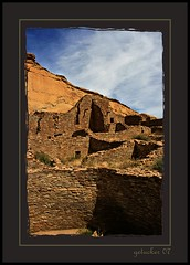 Chaco Canyon  2007 (the Gallopping Geezer 3.5 million + views....) Tags: house abandoned home stone canon construction ancient village decay indian culture canyon historic nativeamerican faded worn weathered chaco chacocanyon derelict decayed geezer americanindian 2007 corel dwelling west07927
