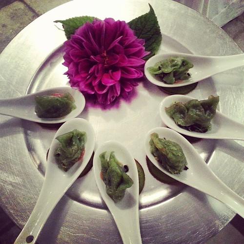 #edamame #dumplings #houderves #nomnom #delicious