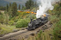Northbound (benkuhns) Tags: fall train colorado silverton locomotive durango steamengine dsng durangosilvertonnarrowgaugerailroad