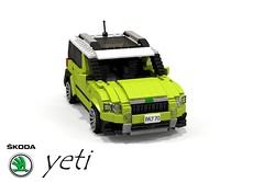 Skoda Yeti (lego911) Tags: auto birthday car vw model republic lego czech yeti 2009 challenge vag lugnuts skoda 84 crossover moc cuv miniland pq35 lego911 lugnutsturns7or49indogyears