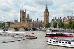 The River Thames (jpellgen) Tags: uk greatbritain travel summer england london thames river nikon europe european unitedkingdom parliament bigben august tamron 18200mm d5100