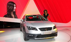 Seat Leon X-perience (frontal)