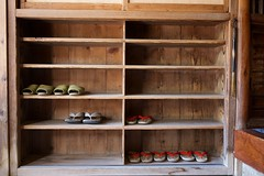 Sekizenkan Ryokan (Fufurasu) Tags: old travel japan japanese inn shoes traditional ryokan spa hotsprings geta genkan shimaonsen sekizenkan