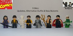 X-Men: Updates, Alternative Outfits & New Mutants! (The_Lego_Guy) Tags: speed nathan lego gray xmen iceman beast bobby forge drake hank wiccan mccoy the moc xman psylocke namor minifigures thelegoguy