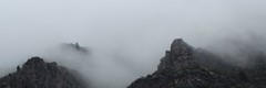 Misty Mountains 1 (SplashH2O) Tags: arizona cloud mist mountain rock misty fog clouds creek oak foggy canyon mistymountains 89a
