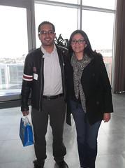 Mtro. Felipe y Monica Rangel Directora de Recursos Humanos Prodigy MSN